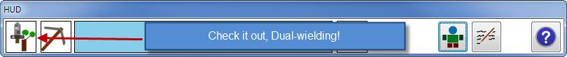 Dual-wielding