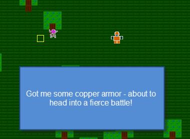 Wearing Armor