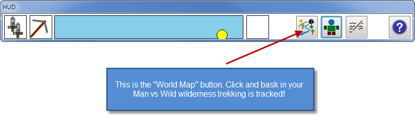 HUD Map Button