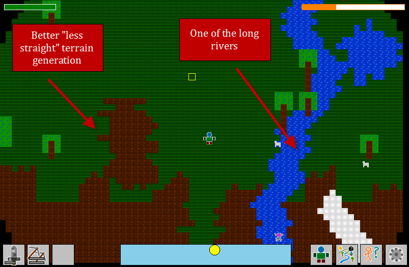 Rivers and Better Terrain
